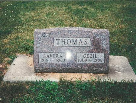 VANDEVENTER THOMAS, LAVERA - Floyd County, Iowa | LAVERA VANDEVENTER THOMAS