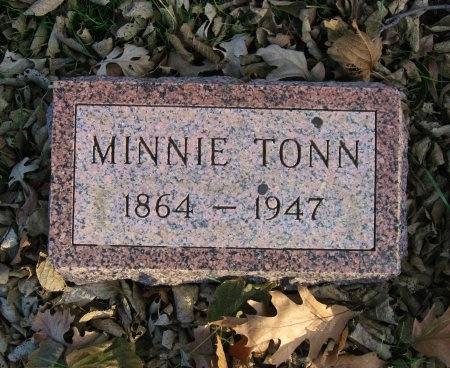 WITGREFE TONN, MINNIE - Floyd County, Iowa | MINNIE WITGREFE TONN