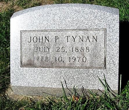 TYNAN, JOHN PATRICK JR. - Floyd County, Iowa | JOHN PATRICK JR. TYNAN