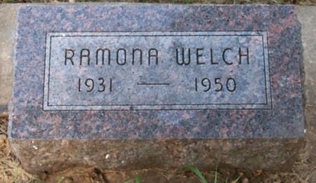 WELCH, RAMONA - Floyd County, Iowa | RAMONA WELCH