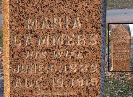 LAMMERS WOLFE, MARIA - Floyd County, Iowa | MARIA LAMMERS WOLFE