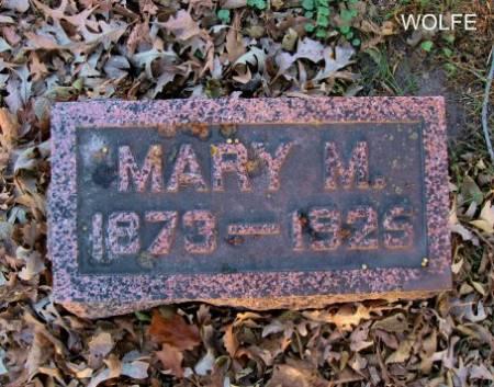 WOLFE, MARY M. - Floyd County, Iowa | MARY M. WOLFE