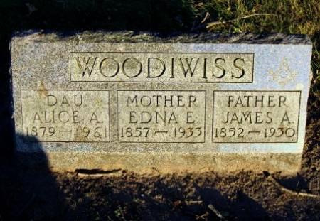 WOODIWISS, ALICE A. - Floyd County, Iowa | ALICE A. WOODIWISS