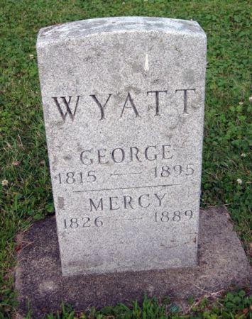WYATT, MERCY - Floyd County, Iowa | MERCY WYATT