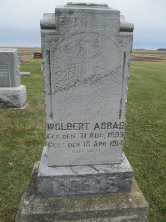 ABBAS, WOLBERT - Franklin County, Iowa | WOLBERT ABBAS