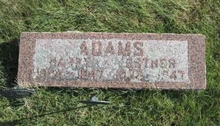 ADAMS, HARRY - Franklin County, Iowa | HARRY ADAMS