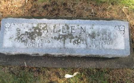ALLEN, ALY R. - Franklin County, Iowa | ALY R. ALLEN
