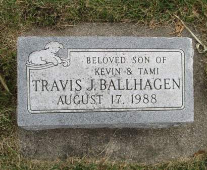BALLHAGEN, TRAVIS J. - Franklin County, Iowa | TRAVIS J. BALLHAGEN