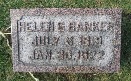BANKER, HELEN G. - Franklin County, Iowa | HELEN G. BANKER