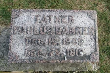 BANKER, PAULUS - Franklin County, Iowa   PAULUS BANKER