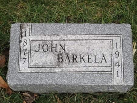 BARKELA, JOHN - Franklin County, Iowa | JOHN BARKELA