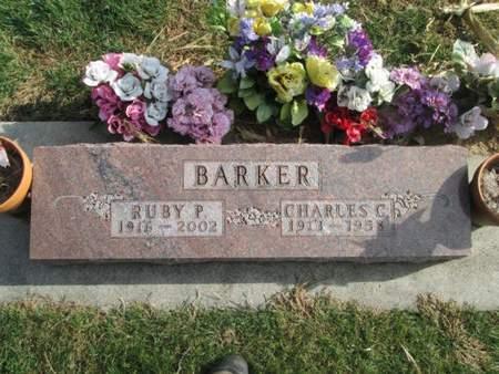 BARKER, RUBY P. - Franklin County, Iowa   RUBY P. BARKER