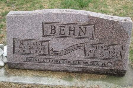 BEHN, WILBUR A. - Franklin County, Iowa | WILBUR A. BEHN