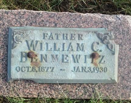 BENNEWITZ, WILLIAM C. - Franklin County, Iowa   WILLIAM C. BENNEWITZ