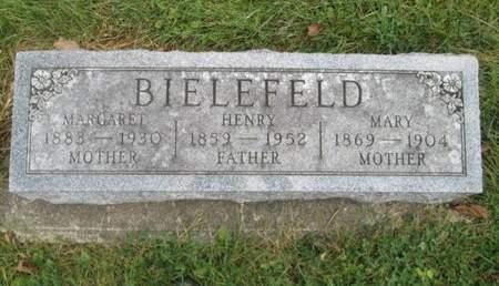BIELEFELD, MARY - Franklin County, Iowa   MARY BIELEFELD