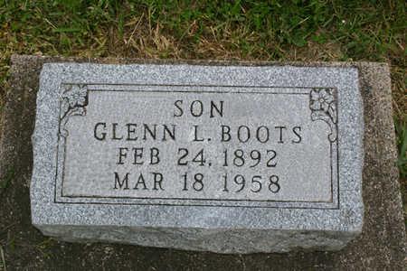 BOOTS, GLENN LELAND - Franklin County, Iowa   GLENN LELAND BOOTS