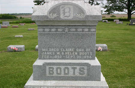 BOOTS, MILDRED CLAIRE - Franklin County, Iowa | MILDRED CLAIRE BOOTS