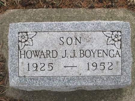 BOYENGA, HOWARD J. J. - Franklin County, Iowa   HOWARD J. J. BOYENGA