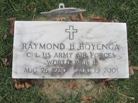 BOYENGA, RAYMOND B. - Franklin County, Iowa | RAYMOND B. BOYENGA