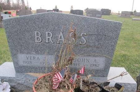 BRASS, VERA J. - Franklin County, Iowa   VERA J. BRASS