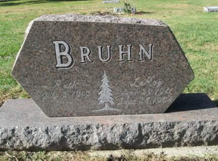 BRUHN, LEROY - Franklin County, Iowa | LEROY BRUHN