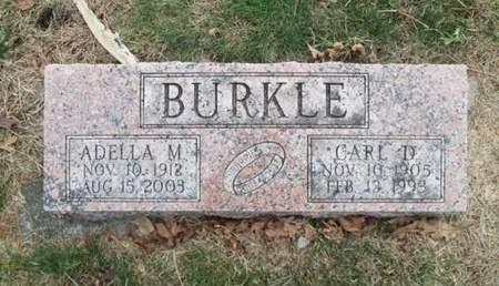 BURKLE, CARL D. - Franklin County, Iowa | CARL D. BURKLE