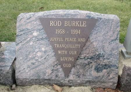 BURKLE, ROD - Franklin County, Iowa   ROD BURKLE