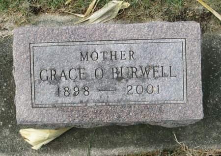 BURWELL, GRACE O. - Franklin County, Iowa | GRACE O. BURWELL