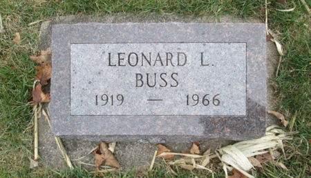 BUSS, LEONARD L. - Franklin County, Iowa | LEONARD L. BUSS