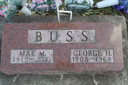 BUSS, GEORGE H. - Franklin County, Iowa | GEORGE H. BUSS