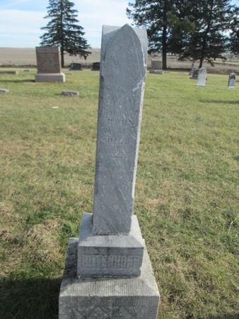 BUTENHOFF, EDWARD F. - Franklin County, Iowa   EDWARD F. BUTENHOFF