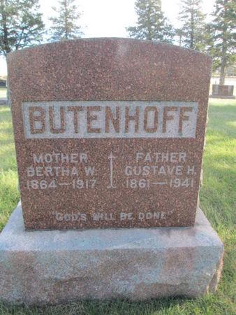 BUTENHOFF, GUSTAVE H. - Franklin County, Iowa | GUSTAVE H. BUTENHOFF
