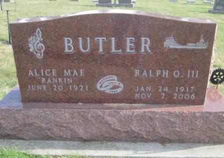 BUTLER, RALPH O. - Franklin County, Iowa | RALPH O. BUTLER