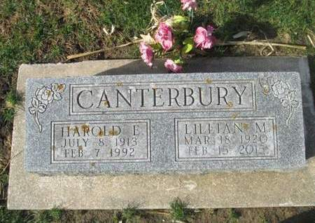 CANTERBURY, HAROLD L. - Franklin County, Iowa | HAROLD L. CANTERBURY