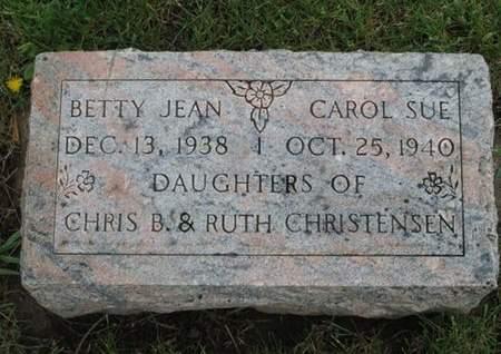 CHRISTENSEN, CAROL SUE - Franklin County, Iowa   CAROL SUE CHRISTENSEN