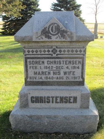 CHRISTENSEN, SOREN - Franklin County, Iowa | SOREN CHRISTENSEN