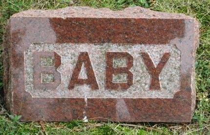 CLAUSEN, BABY - Franklin County, Iowa | BABY CLAUSEN