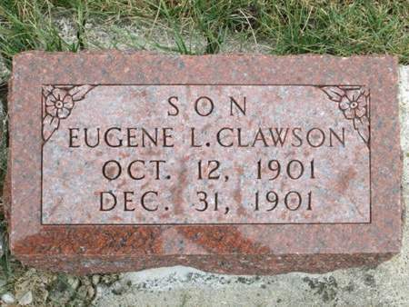 CLAWSON, EUGENE L. - Franklin County, Iowa | EUGENE L. CLAWSON