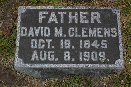 CLEMENS, DAVID M. - Franklin County, Iowa   DAVID M. CLEMENS