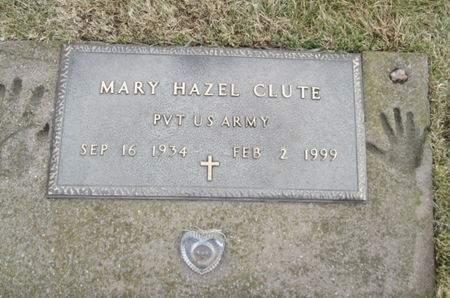 CLUTE, MARY HAZEL - Franklin County, Iowa | MARY HAZEL CLUTE