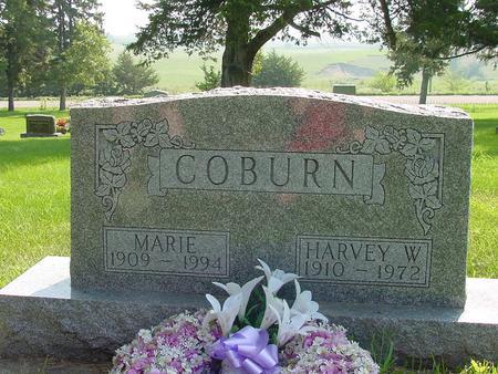 OLESON COBURN, MARIE - Franklin County, Iowa | MARIE OLESON COBURN