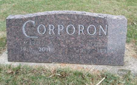 CORPORON, MARIE - Franklin County, Iowa   MARIE CORPORON