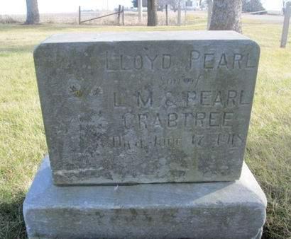 CRABTREE, LLOYD PEARL - Franklin County, Iowa | LLOYD PEARL CRABTREE
