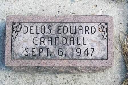 CRANDALL, DELOS EDWARD - Franklin County, Iowa | DELOS EDWARD CRANDALL
