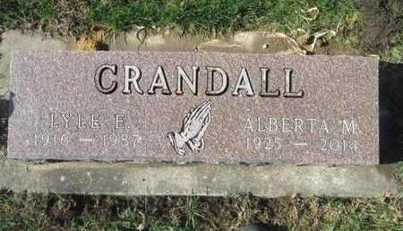 CRANDALL, LYLE E. - Franklin County, Iowa | LYLE E. CRANDALL