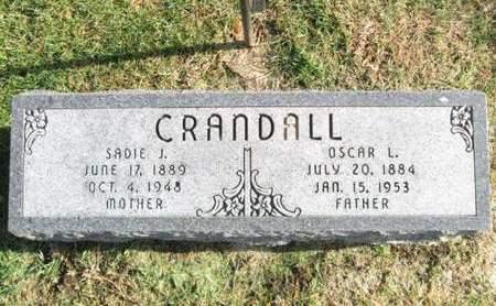 CRANDALL, OSCAR L. - Franklin County, Iowa | OSCAR L. CRANDALL
