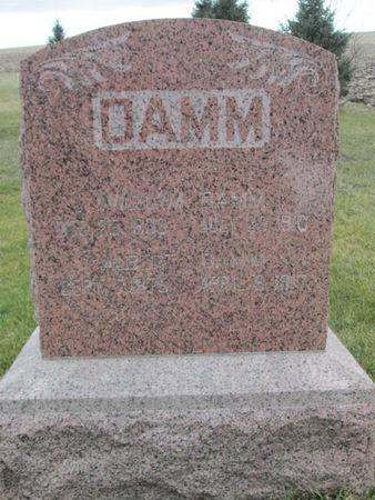 DAMM, ALBERT - Franklin County, Iowa | ALBERT DAMM