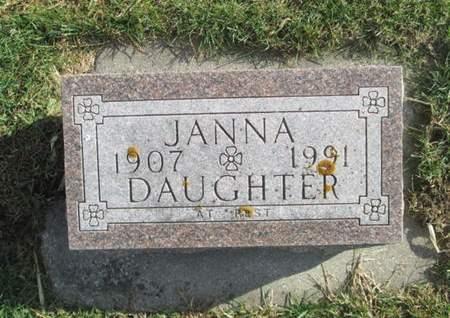 DANNEN, JANNA - Franklin County, Iowa   JANNA DANNEN