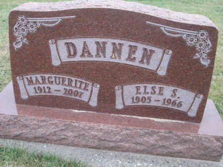 DANNEN, MARGUERITE - Franklin County, Iowa | MARGUERITE DANNEN