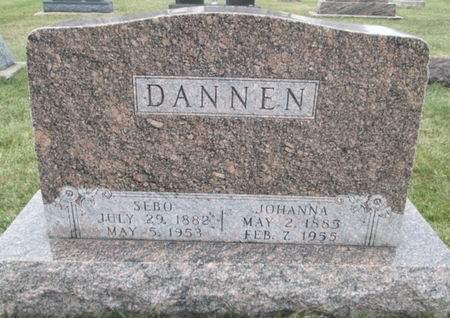 DANNEN, SEBO - Franklin County, Iowa | SEBO DANNEN